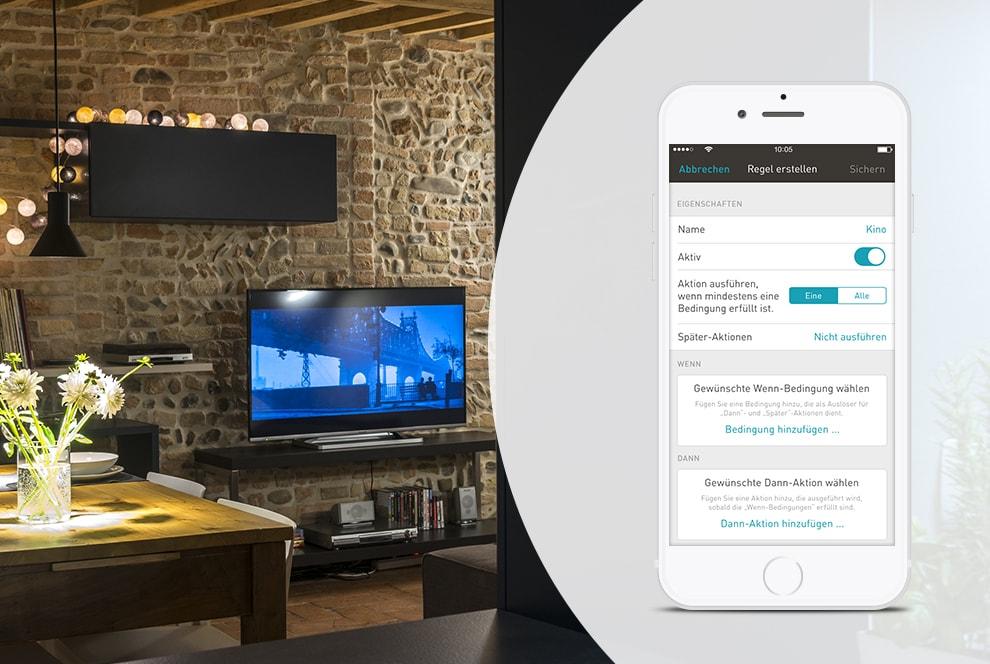 eNet Smart Home: Lichtsteuerung