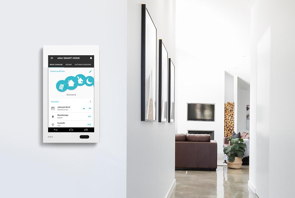 enet smart home smart operation. Black Bedroom Furniture Sets. Home Design Ideas