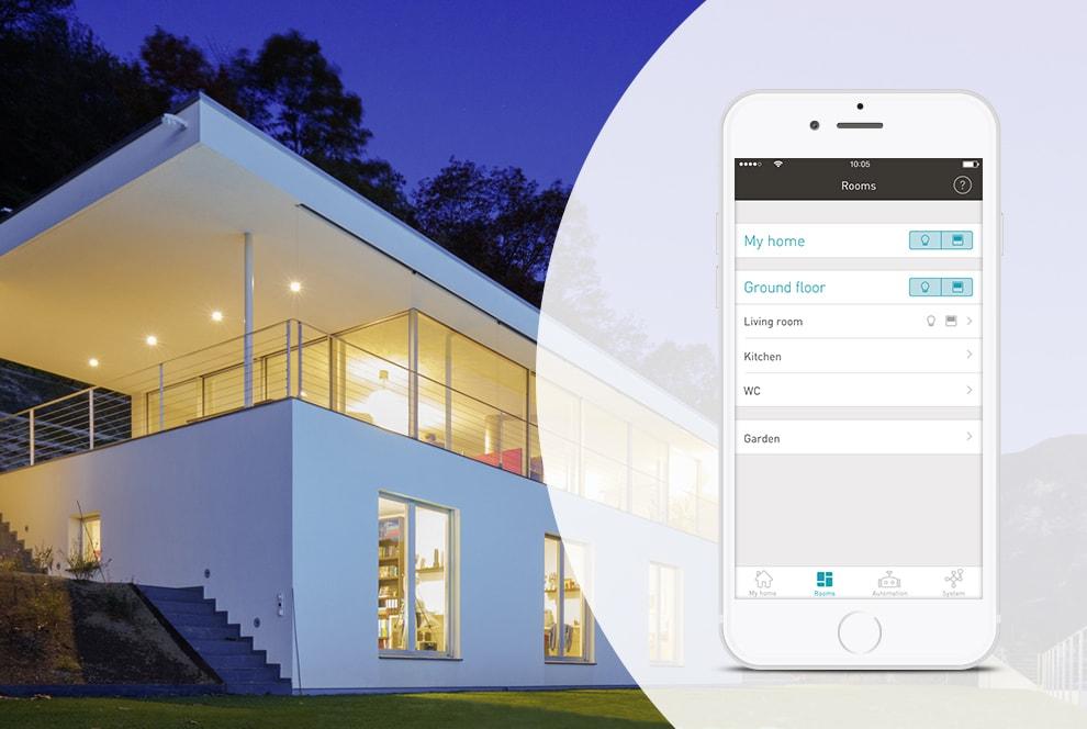 enet smart home light control